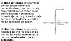 Definición de plano cartesiano