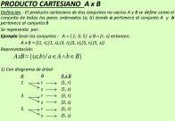 Diferencia entre producto cartesiano y plano cartesiano